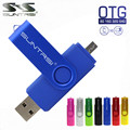 Suntrsi Смартфон Флэш-Накопитель USB Металла Pen Drive 64 ГБ pendrive 8 ГБ OTG внешнее запоминающее micro usb Flash memory stick диск