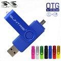 Suntrsi telefone inteligente usb flash drive pen drive de metal 64 gb pendrive 8 gb otg armazenamento externo micro usb memory stick flash unidade