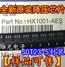 Freeshipping  HX1001-AES HX1001 SOT23-5 DC-DC
