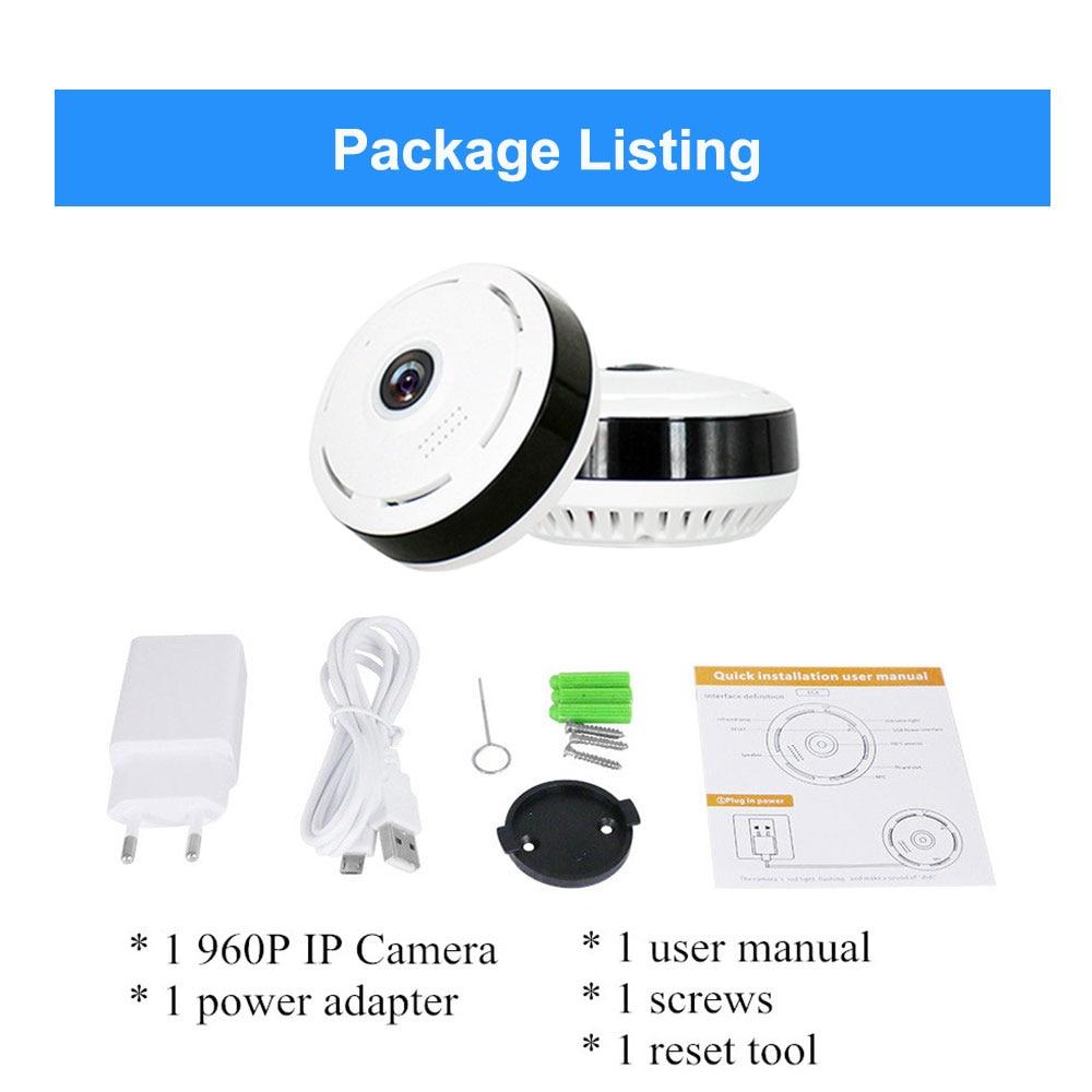 Cobell HD 960 P Wi-fi Câmera IP de Segurança Em Casa Sem Fio 360 - Segurança e proteção - Foto 6