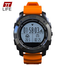 TTLIFE Men S928 GPS Sports Smart Watch IP66 Waterproof Heart Rate Monitor Bracelet Android 4.3 IOS 8.0 and Above Smart Wristband