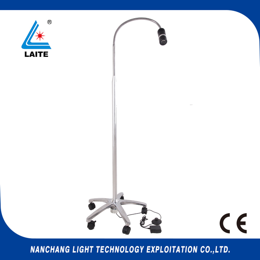 JD1100L cheap veterinary equipment 7W LED examination lamp floor stand type free shipping