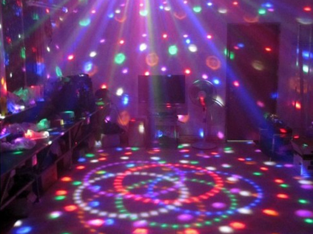 remote control mp3 stage laser lights dj disco crystal light ball