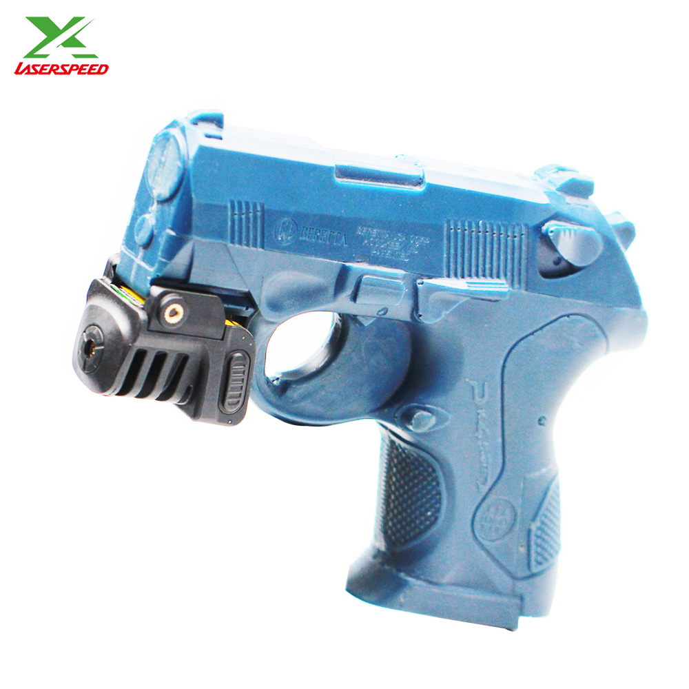 Subcompact mini green laser sight for pistol and rifle
