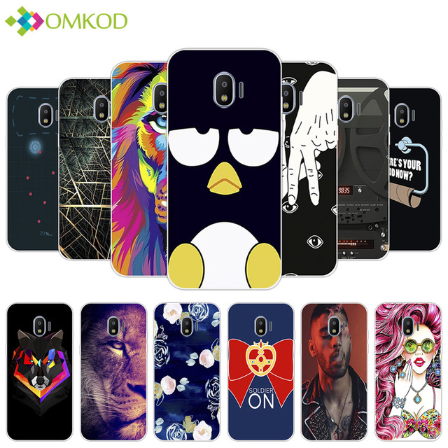 For Galaxy J2 Pro 2018 J250f Soft Silicone Wallpapers Case 50 For