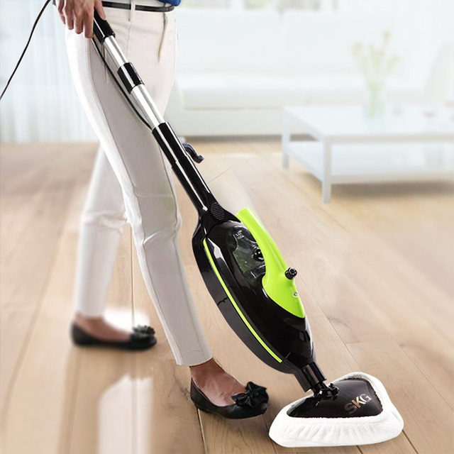 Skg Electric Steam Mops 1500w Powerful Non Chemical 212f Hot Steam