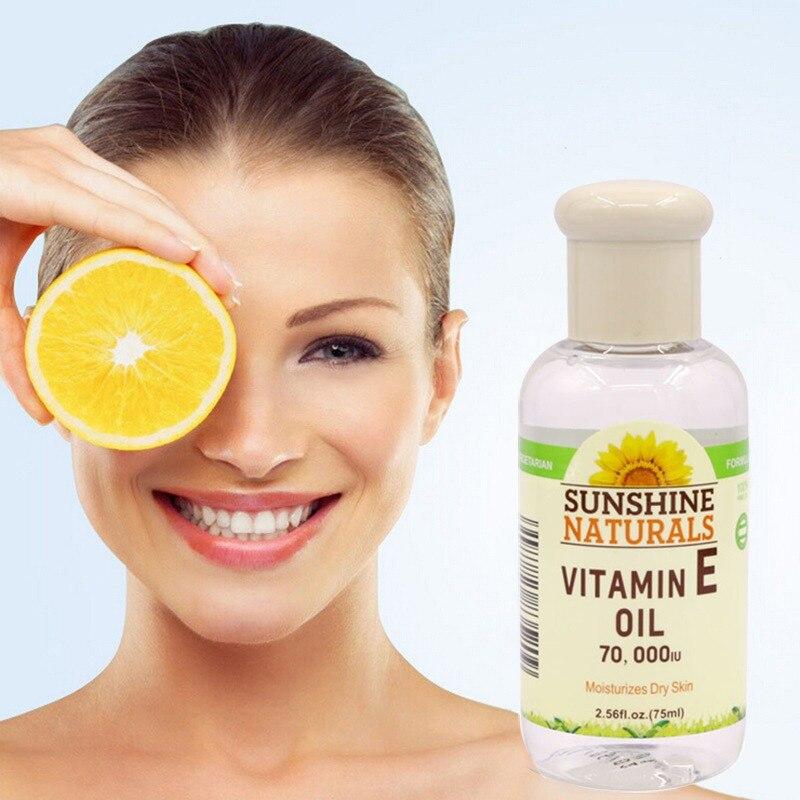 Natural Vitamin E Oil Face Body Skin Care Whitening Anti-Cracking Anti-Wrinkle Essence Pro