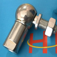 rod ends bearings universal joint CS19-2 ball M16 Clockwise teeth joints M16*2.0 free shipping