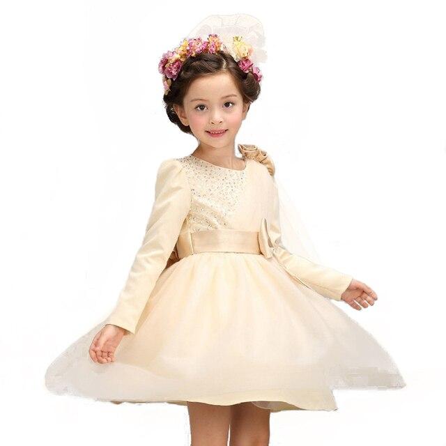 Mädchen party tragen kleid kinder 2016 blumenspitze kinder mädchen ...
