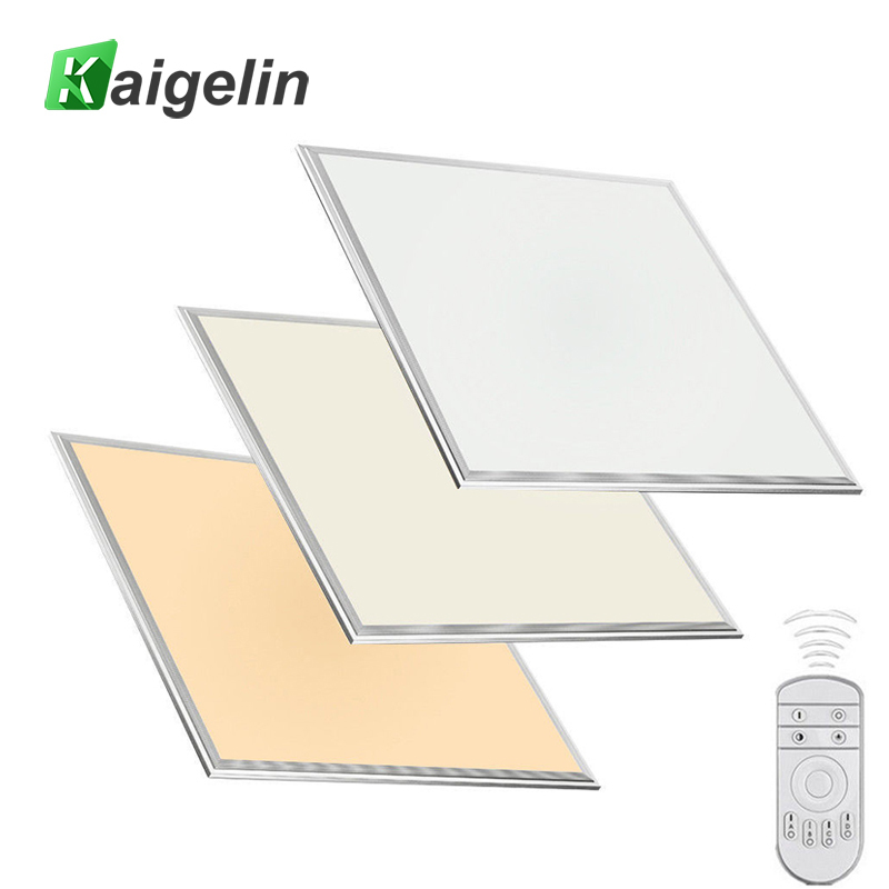 Kaigelin LED Panel Dimmable Light 600x600 36W SMD2835 LED Ceiling Panel Light Office AC100-240V Aluminum Industrial Ceiling Lamp цена
