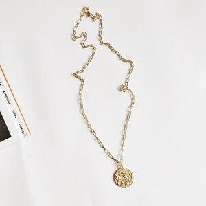 Image 5 - Louleur 925 Sterling Silver Mermaid Dans Meisjes Ketting Ronde Gouden Lange Haar Vliegende Elegante Hanger Ketting Voor Vrouwen Sieraden