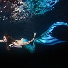 Таможенные хвост русалки с Моноласты для плавания Русалка Косплэй костюм пляж артефакт