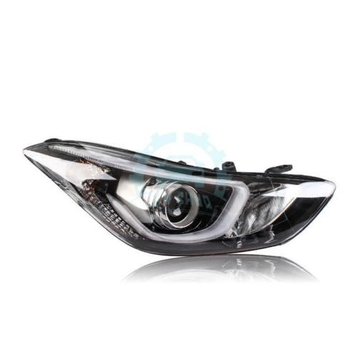 LED Strip Head Lights Frontlamps Fit For Hyundai Avante Elantra 2011-2015 hyundai avante md напрямую из кореи
