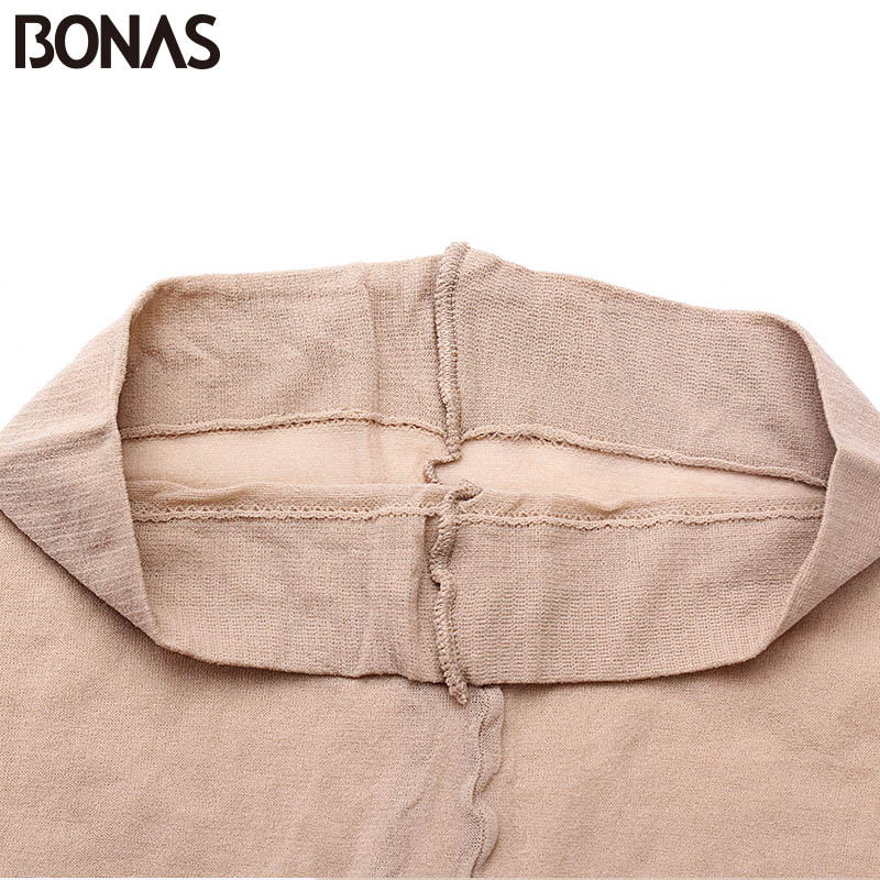 Image 5 - BONAS 6pcs/lot Wholesale Women Tights 15D Nylon Lady Summer New High Elasticity Spandex Pantyhose Female Seamless Soft Tights-in Tights from Underwear & Sleepwears