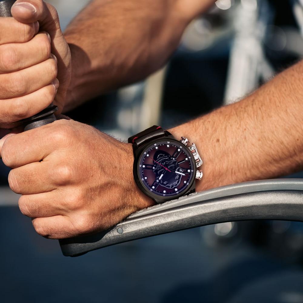 Skull skeleton watch men sport mens relojes top brand luxury 2018 - Relojes para hombres - foto 4