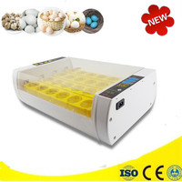 Hot Sale 60W 220V Automatic 24 Eggs Incubator Eggs Turner Chicken Duck Eggs Poultry Incubation Tray