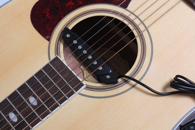 BELCAT SH 85 Acoustic Guitar Pickup Sound Hole Matte Black
