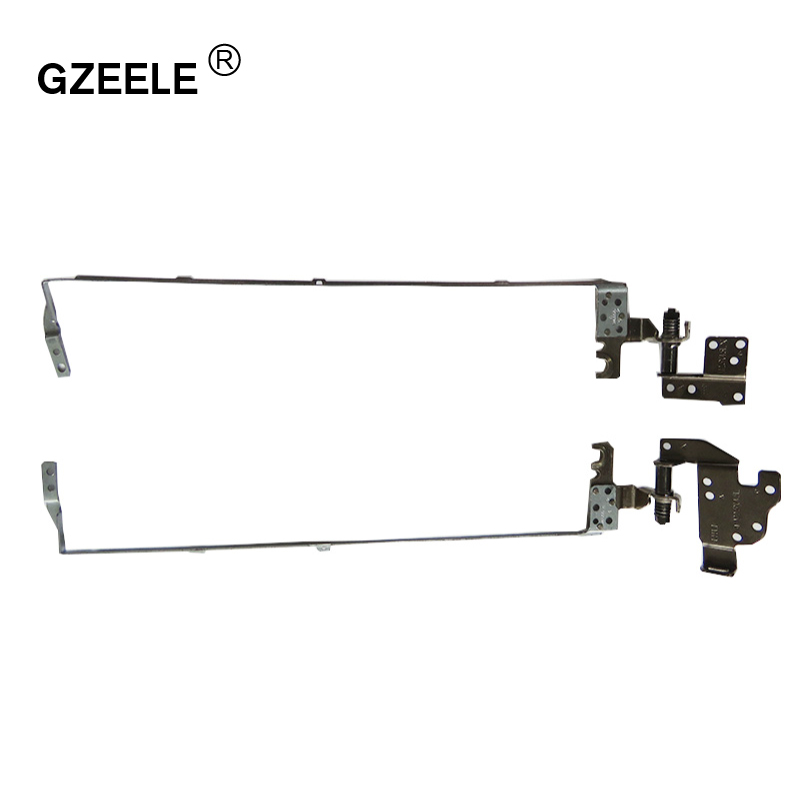 GZEELE Laptop LCD Hinges for ACER aspire E1-570 E1-572 E1-530 E1-510 E1-532 E1-552G E1-572G E1-570G E1-510P E1-532G E1-572P set quying laptop lcd screen for acer aspire m3 581tpg f5 571 e1 572 e1 530 e1 532 e1 570 e1 570g series 15 6 inch 1366x768 30pin