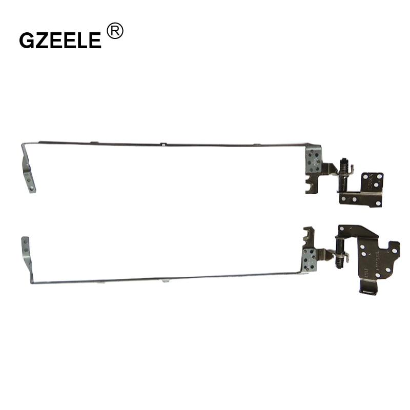 GZEELE Laptop LCD Hinges For ACER Aspire E1-570 E1-572 E1-530 E1-510 E1-532 E1-552G E1-572G E1-570G E1-510P E1-532G E1-572P Set