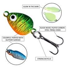 Goture 40pcs/lot Winter Fishing Lure Jig/Drop Jig/Grub/Spoon Ice Fishing Baits 0.6-6.2g Lead Winter Fishing Tackle