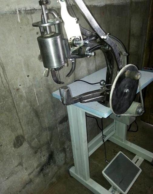 Shoe Repair Mending Machine, Hand Shoe Sewing Machine For Cobbler And Shoemaker