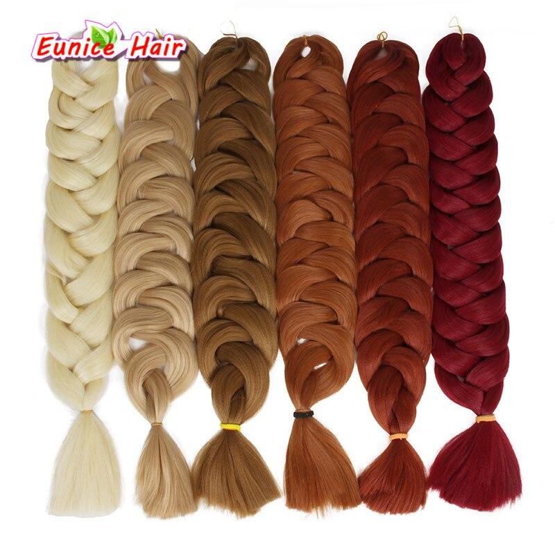 polegada cor jumbo tranca de cabelo sintetico 02