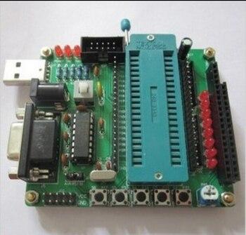 DIY learning board kit suit the parts 51/AVR microcontroller development board learning board STC89C52