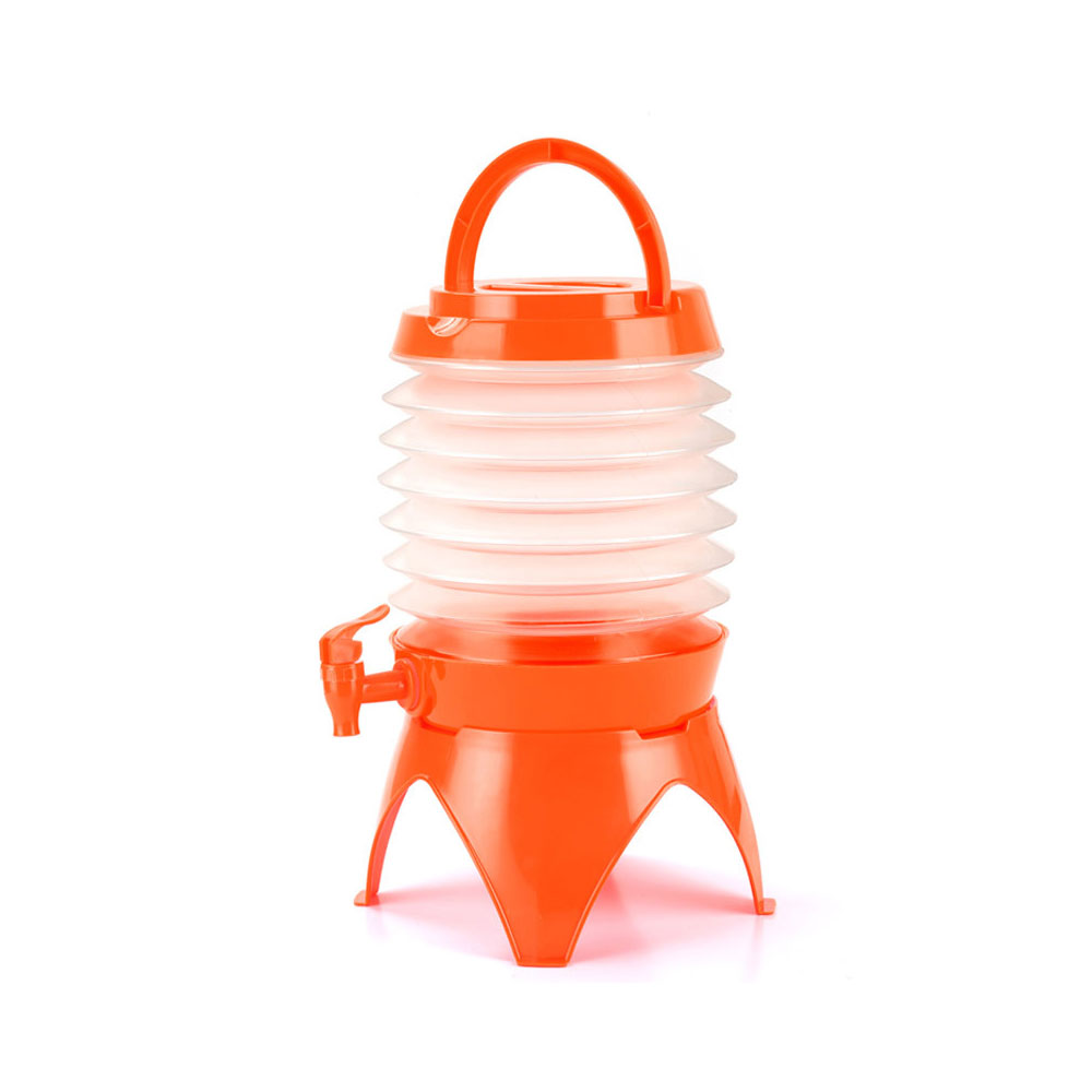Складное ведро голубое портативное складное ванночка для ног складывающийся таз туристические поездки за рубежом принадлежности Туристические сумки для умывальника - Цвет: orange