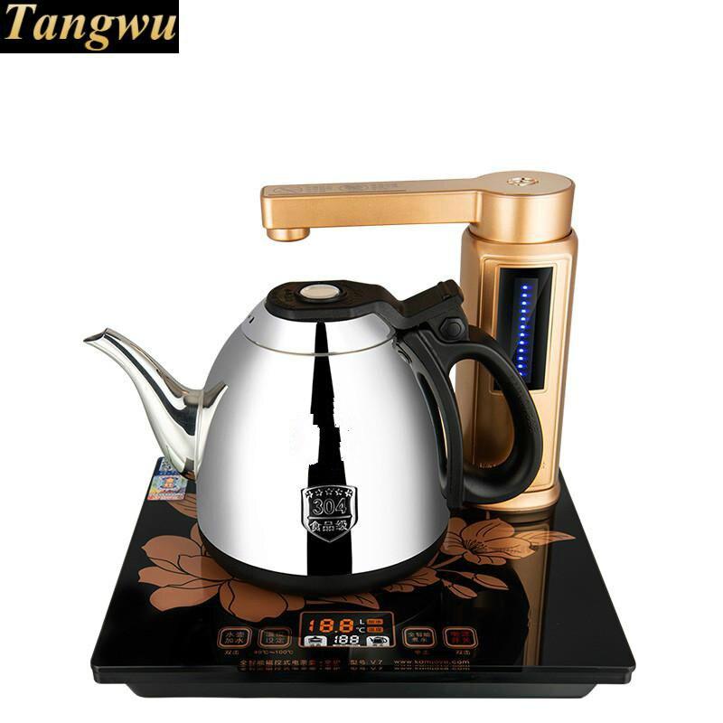 Полный Интеллектуальный автоматический гидроэлектрический чайник чай с полной электрической плитой чайник