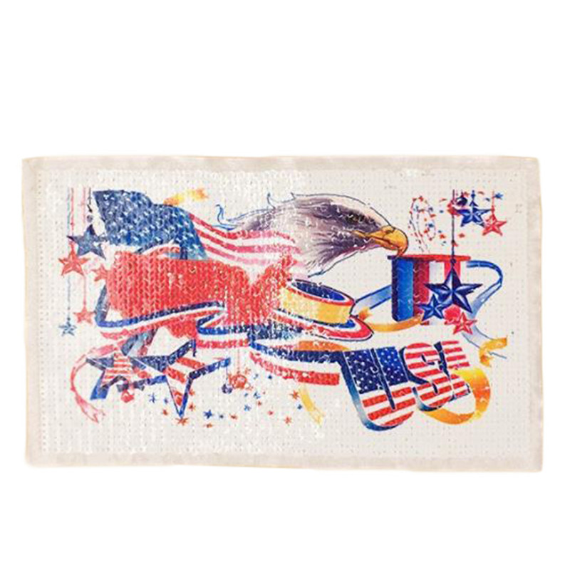 25cm eagle flag diy patch deal with it clothes iron on patches for clothing t shirt sequins stickers halloween christmas gifts