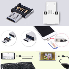 Hot Sale! USB OTG Adapter For Flash Pen Drive Mobile Phone Adapters Turn Android Tablet Connections cable interface