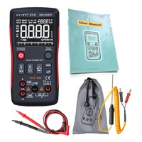 ZT X Digital Auto Range Analog Multimeter Transistor Battery Tester esr Meter Voltmeter True RMS AC/DC 409 Volt Amp Ohm b Teste