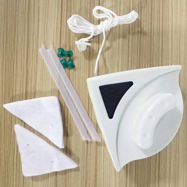 10 комплектов Сменная Губка-очиститель для мытья окон стекло Магнитная щетка для очистки окон Сменная Губка (реальное изображение)