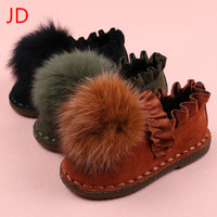 Children Shoes Autumn and Winter New Baby Girl Shoes Girls Kids Shoes Size 26-30
