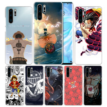 One Piece Case for Huawei P20 P30 P Smart Z + Plus 2019 P10 P9 P8 Mate 10 20 lite Pro 2017 Hard Anime Phone Cover Coque P20lite стоимость
