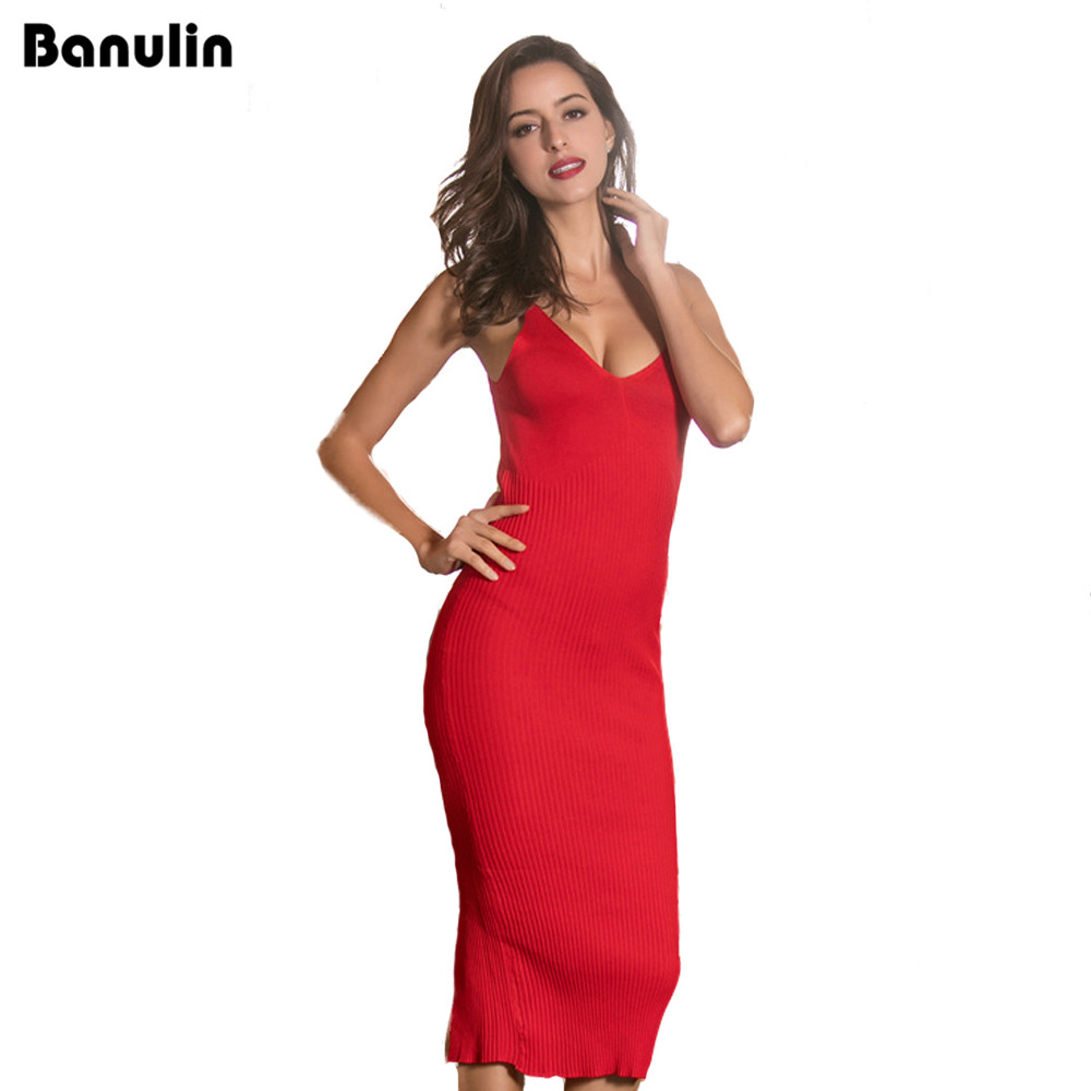 Banulin Sexy Off Shoulder Club Women Dress Slim Bodycon Dress Autumn Winter Knitted Elastic Sweater Party Night Dresses Vestidos rocksir sexy off shoulder bodycon dress women pearl v neck knitted dress spring backless sashes sweater party dresses vestidos