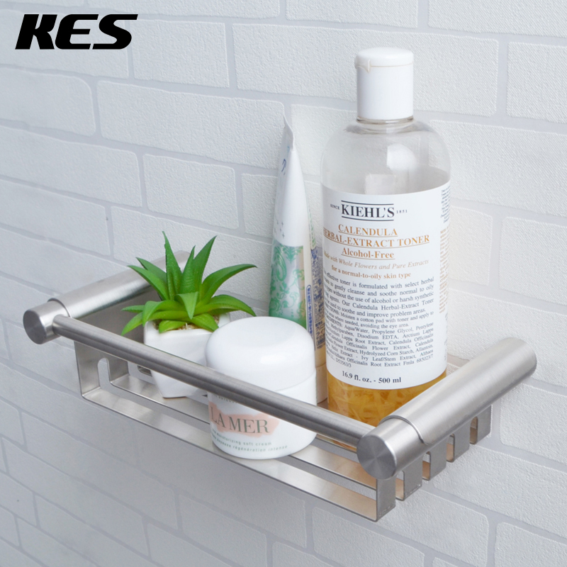 KES SUS 304 Stainless Steel Shower Caddy Bath Basket Storage Shelf ...