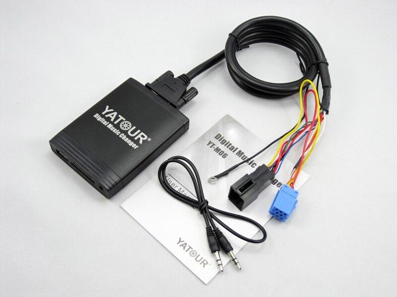 Yatour ytmo6 voiture lecteur MP3 pour Vw Skoda Audi siège USB SD AUX numérique changeur de musique interface Bluetooth