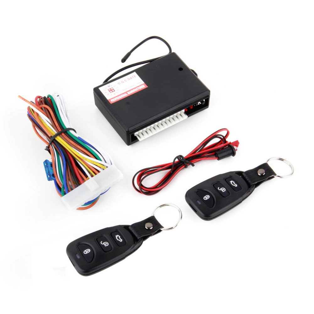 1 Pcs Universal Car Remote Central Kit Door Lock Vehicle Keyless Entry System Wholesale Car Electronics Free Shipping