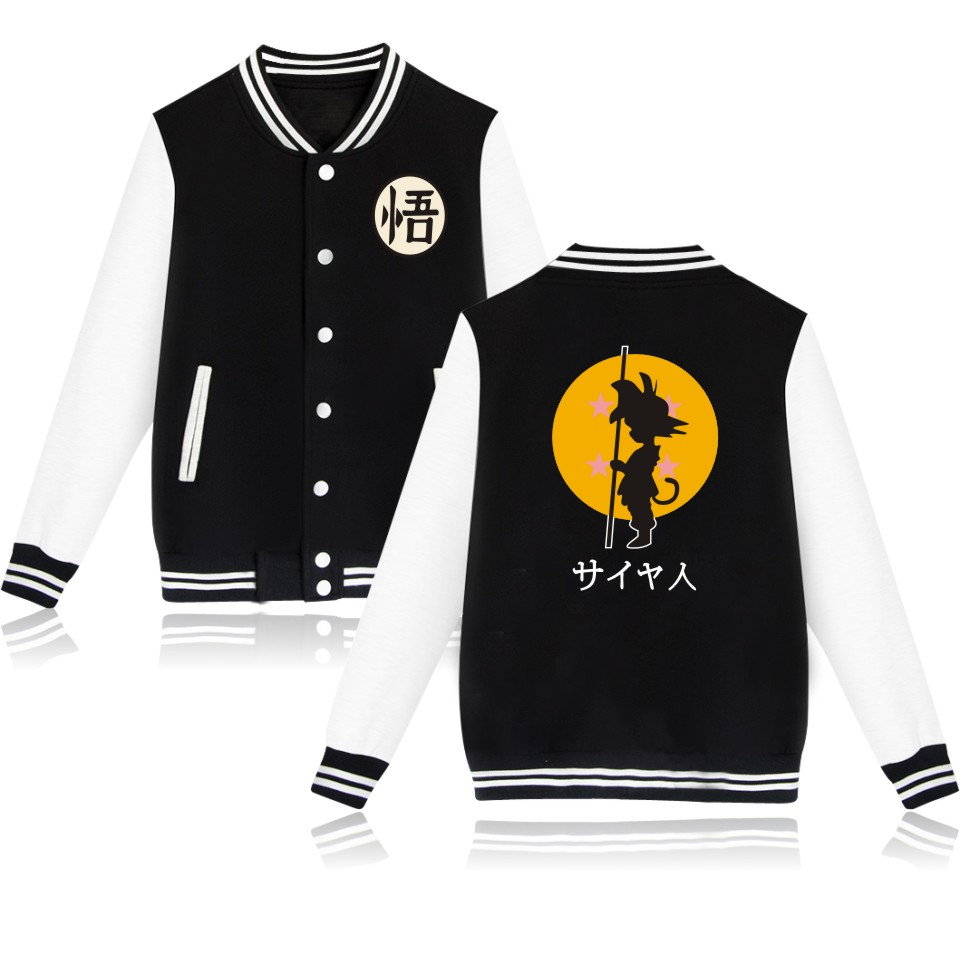 Dragon Ball Print Logo Cool Fashion Women Luxurious Jacket Cool Style Print Jacket Winter Jacket Women Plus Size