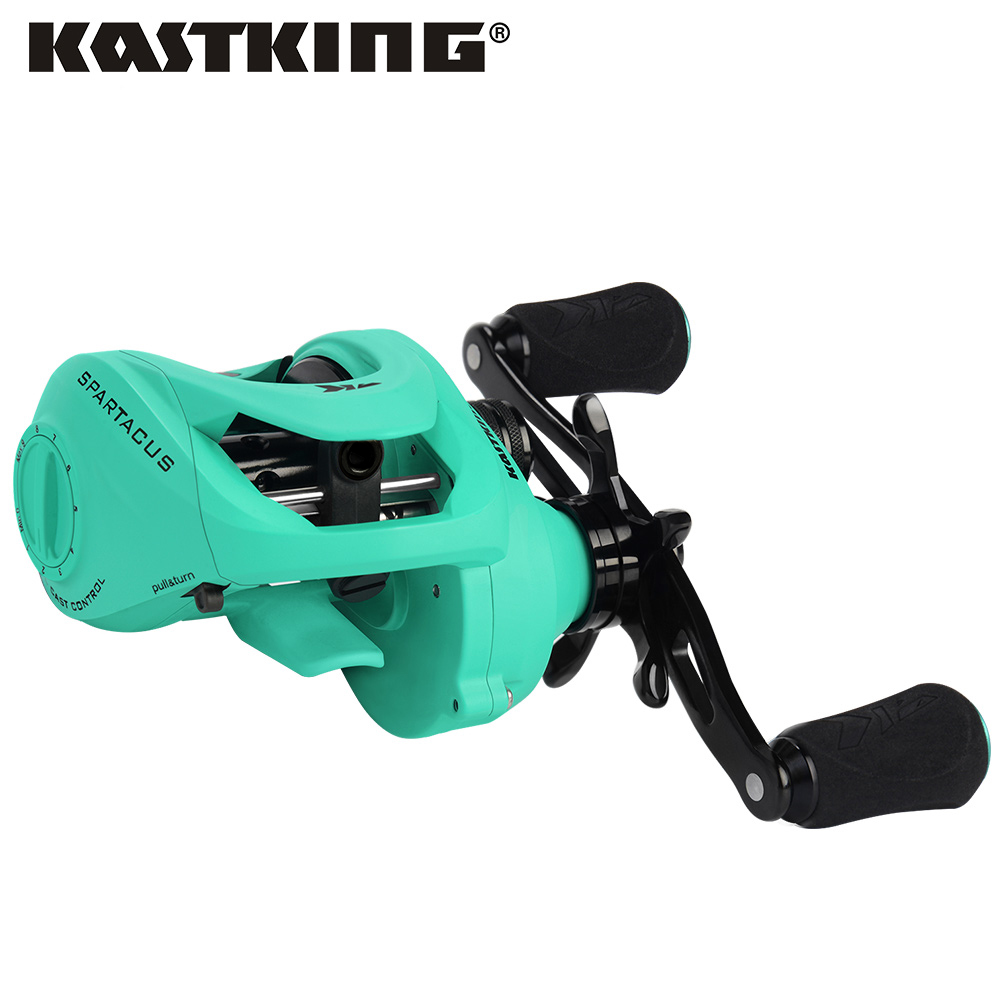 KastKing Spartacus Maximus 11 33KG Drag Baitcasting Reel 6 3 1 High Speed Bait Casting Lure