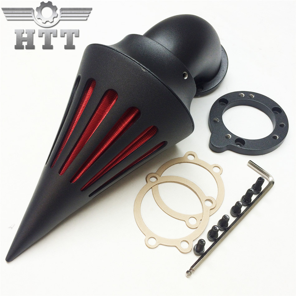 Aftermarket free shipping motorcycle parts Spike Air Cleaner filter kits for Harley Davidson S&S custom CV EVO XL Sportster BK