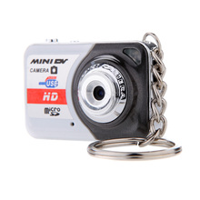 Portable X6 Digital Camera Ultra HD Mini Camera 32GB TF Card w/Mic Digital Video Camera PC DV