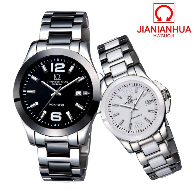 Amantes de Mergulho Relógios de Luxo da Marca Relógio à Prova Carnaval Cerâmica Esportes Relógio Mecânico Automático Militar Homens Brancos Senhoras d' Água