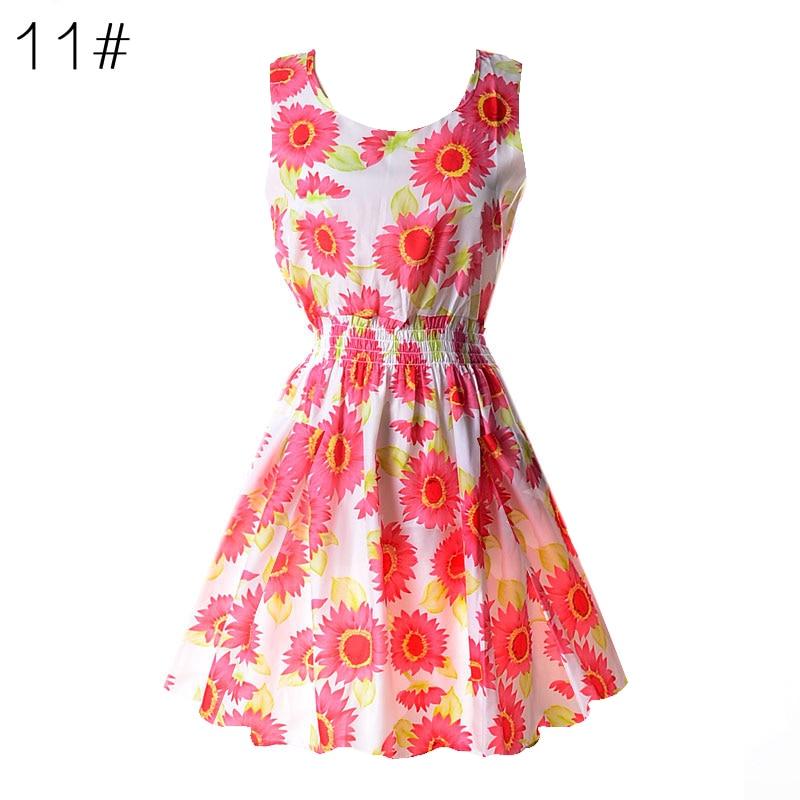 Naujas vasaros moterų atsitiktinis bohemiškas gėlių - Moteriški drabužiai - Nuotrauka 4