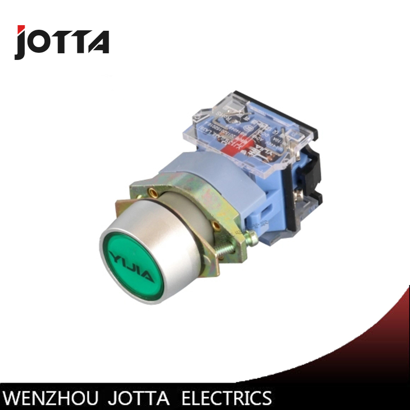 LA39-11BN momentary flat  push button switch