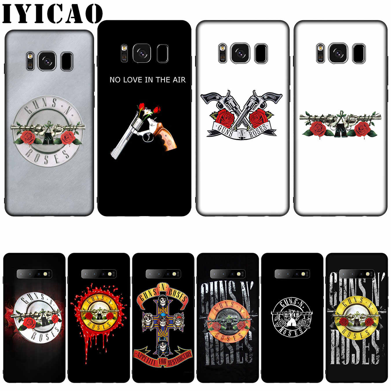 Guns N Roses Silicone Soft Phone Case For Samsung Galaxy S20 S10
