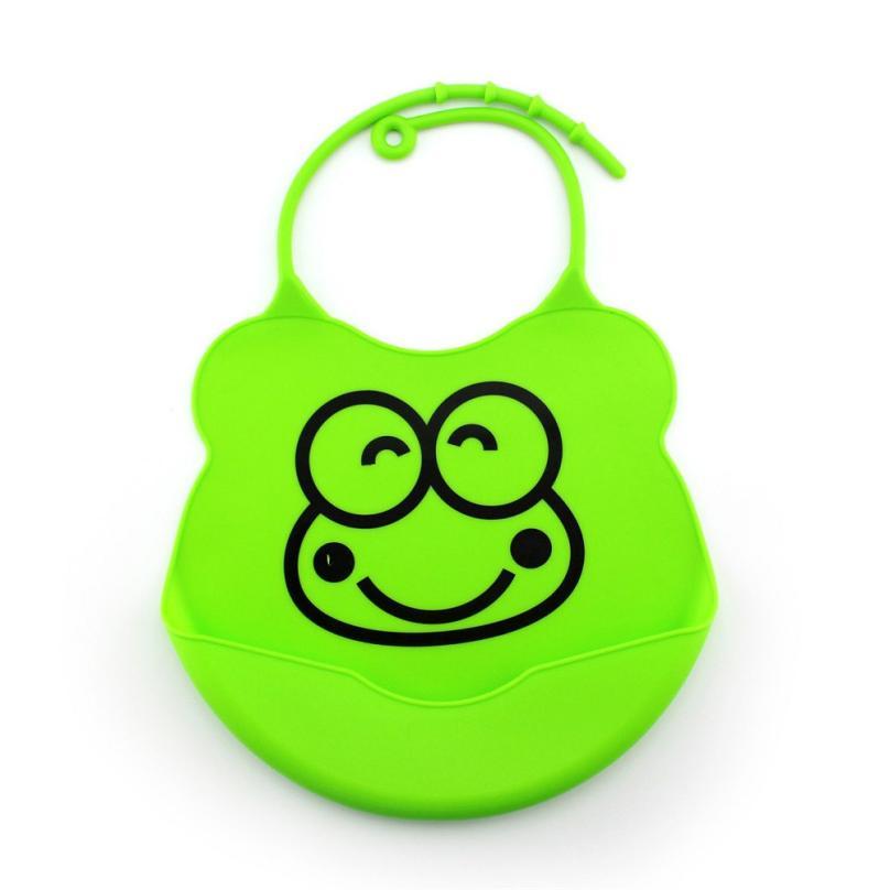 Baby Bibs&Burp Clothes Silicone Waterproof Bandana Feeding Saliva Apron Towel Baby Bibs for Babies 18Jul9 foodie babies wear bibs