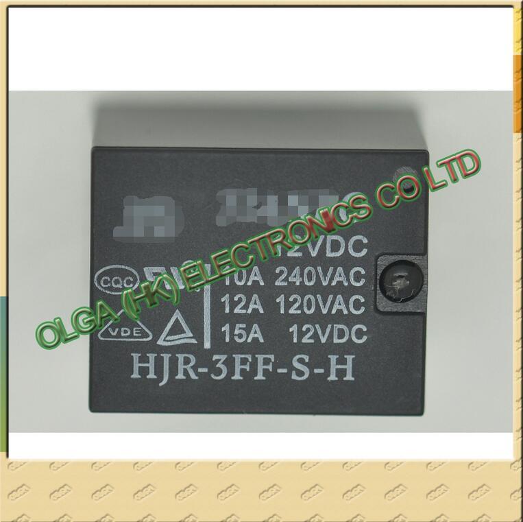HJR-3FF-S-H 12V Original Relay 12v 4feet 10A.