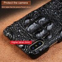 Пояса из натуральной кожи для iphone 7 8 caseocodile мобильный телефон чехол для iphone X задняя крышка защитный чехол leather2